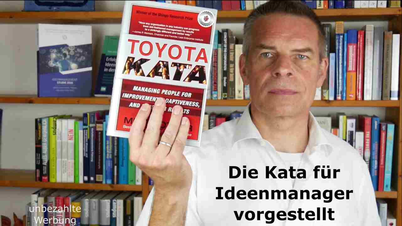 Die Toyota Kata von Mike Rother für Ideenmanager